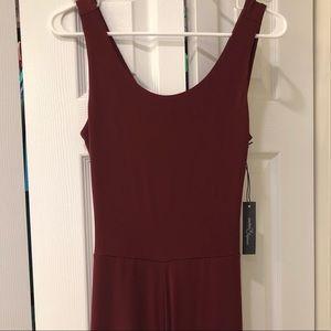 c885ebd5bf0 Market   Spruce Other - Brand New burgundy jersey jumpsuit